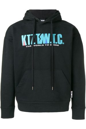 KTZ Hoodies - Mountain letter embroidered hoodie