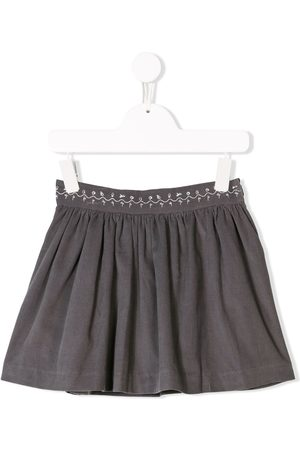 KNOT Girls Skirts - Corduroy pleated skirt