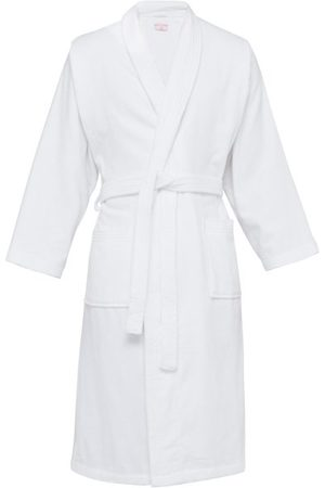 DEREK ROSE Cotton Velour Bathrobe - Mens
