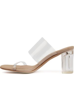 Mollini Pete Clear Sandals Womens Shoes Dress Heeled Sandals