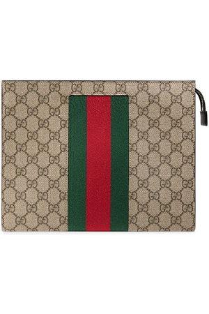 Gucci Web GG Supreme wash bag