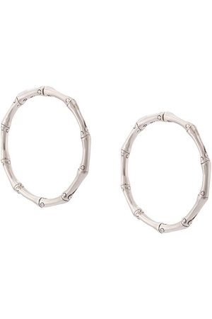 John Hardy Bamboo medium hoop earrings