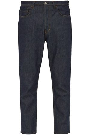 Acne River Raw Denim Tapered Leg Jeans - Mens - Indigo