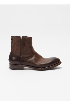 PROJECT TWLV Flame' leather boots
