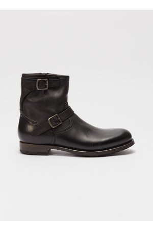 PROJECT TWLV Lowrider' buckled leather boots