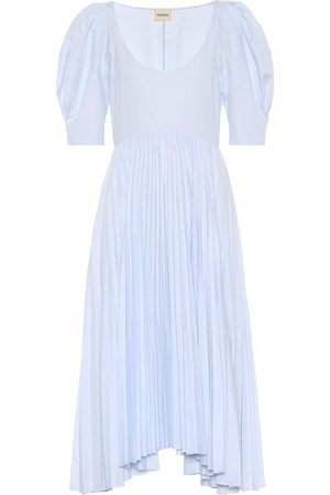 Khaite Women Work Dresses - Caitlin cotton poplin dress