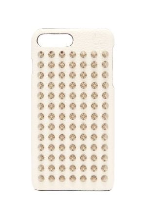 Christian Louboutin Loubiphone Leather Iphone® 7 & 8 Plus Case - Womens