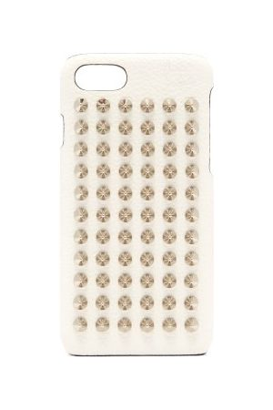Christian Louboutin Loubiphone Leather Iphone® 7 & 8 Case - Womens