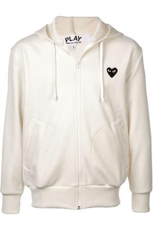 Comme des Garçons Men Hoodies - Heart logo hoodie