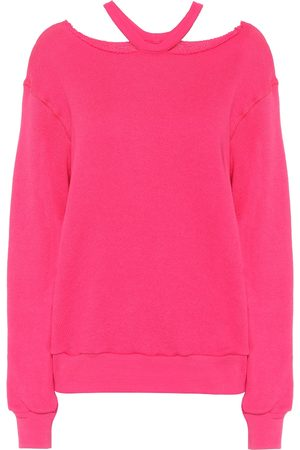 UNRAVEL Cotton and cashmere sweatshirt