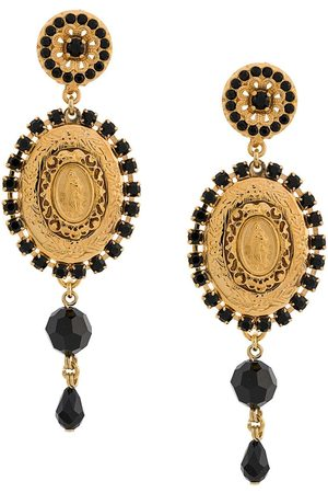Dolce & Gabbana Women Earrings - Drop medallion earrings