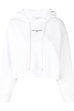 Stella McCartney Printed logo hoodie