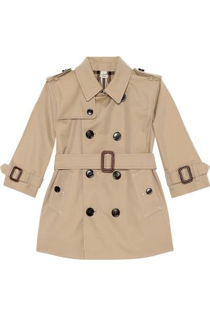 Burberry Women Trench Coats - Cotton trench coat