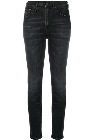 R13 High waisted skinny jeans