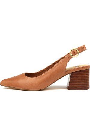 MOLLINI Rango Tan Shoes Womens Shoes Heeled Shoes