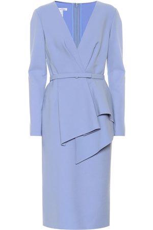 Oscar de la Renta Women Pencil Dresses - Stretch-wool dress