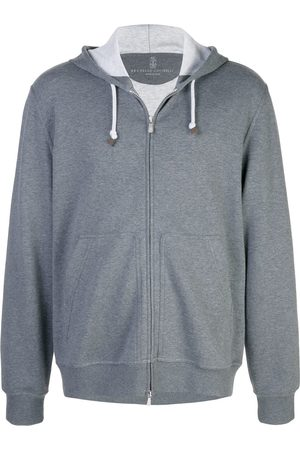 Brunello Cucinelli Men Hoodies - Zipped hoodie