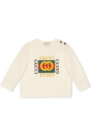 Gucci Baby sweatshirt with Gucci logo