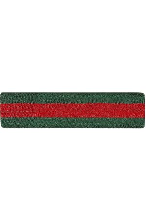 Gucci Girls Headbands - Children's Web lurex elastic headband