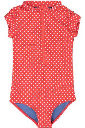 Duskii Girls Swimsuits - Anise dotted swimsuit