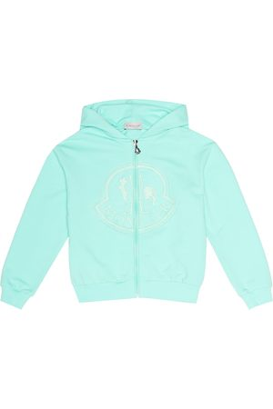 Moncler Embroidered cotton hoodie