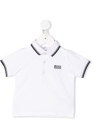 HUGO BOSS Polo Shirts - Striped trim polo shirt