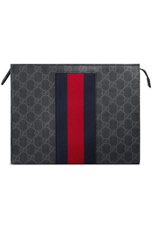 a06d6f794e3 Gucci GG Supreme Web cosmetic case. FarFetch