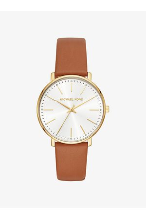 Michael Kors Watches - Pyper -Tone Leather Watch