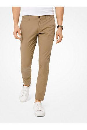 Michael Kors Men Chinos - Skinny-Fit Stretch-Cotton Chinos
