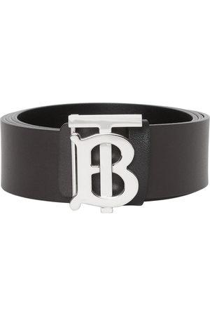 Burberry Reversible Monogram Motif Leather Belt
