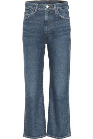 Goldsign Women Bootcut & Flares - High-rise cropped wide-leg jeans