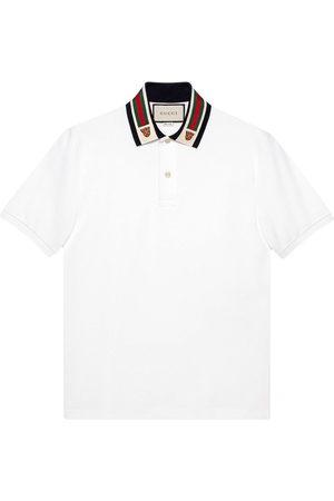 Gucci Web-detail polo shirt
