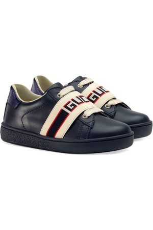 Gucci Baby Sneakers - Toddler Ace sneaker with Gucci stripe
