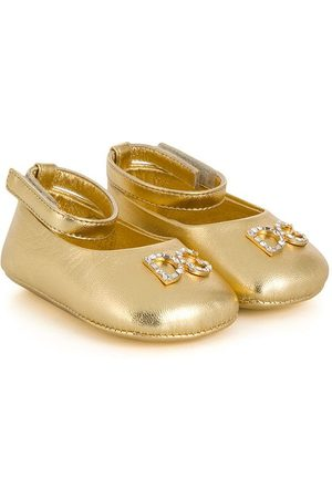 Dolce & Gabbana Crystal embellished ballerina shoes