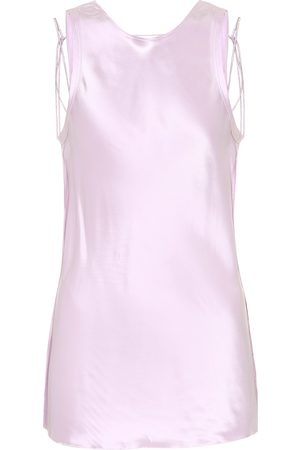 Helmut Lang Tank Tops - Satin tank top