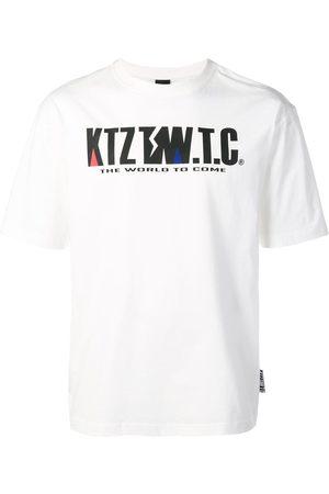 KTZ Mountain letter T-shirt