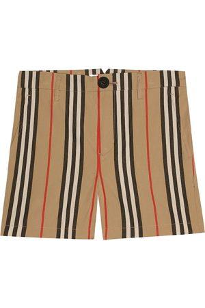 Burberry Icon Stripe cotton shorts