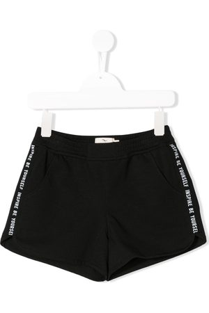 Le pandorine Side stripe running shorts