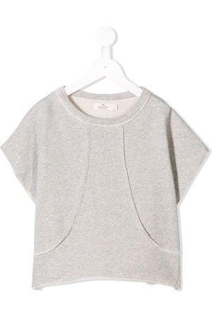 Le pandorine Short sleeve fleece sweatshirt