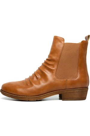 I LOVE BILLY Rufuser Rich Tan Boots Womens Shoes Casual Ankle Boots