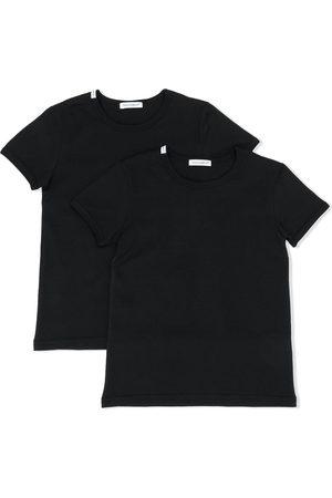 Dolce & Gabbana Logo patch T-shirt 2 pack