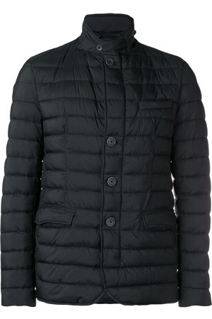 HERNO Men Winter Jackets - Buttoned puffer jacket
