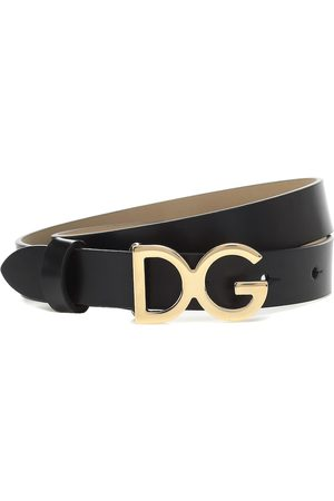 Dolce & Gabbana Belts - Logo leather belt