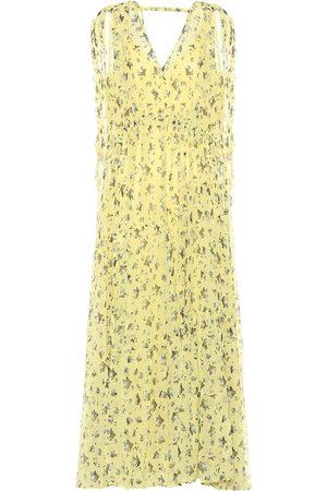 Lee Mathews Floral silk dress