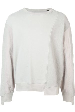 MOSTLY HEARD RARELY SEEN Men Sweatshirts - Asymmetrical seam sweatshirt