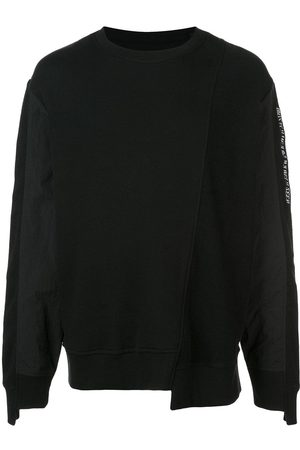MOSTLY HEARD RARELY SEEN Asymmetrical seam sweatshirt