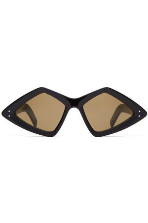 Gucci Diamond Acetate Sunglasses - Mens