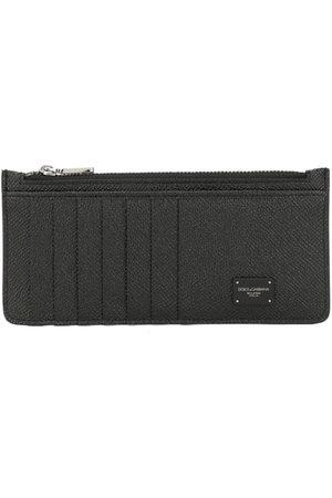 Dolce & Gabbana Logo zipped wallet