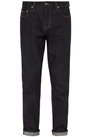 Raey Raw Selvedge Denim Slim Leg Jeans - Mens - Indigo