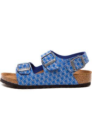 Birkenstock Milano Kids Jnr Bk Sandals Girls Shoes Casual Sandals Flat Sandals
